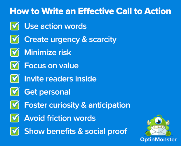 How to create a killer call to action