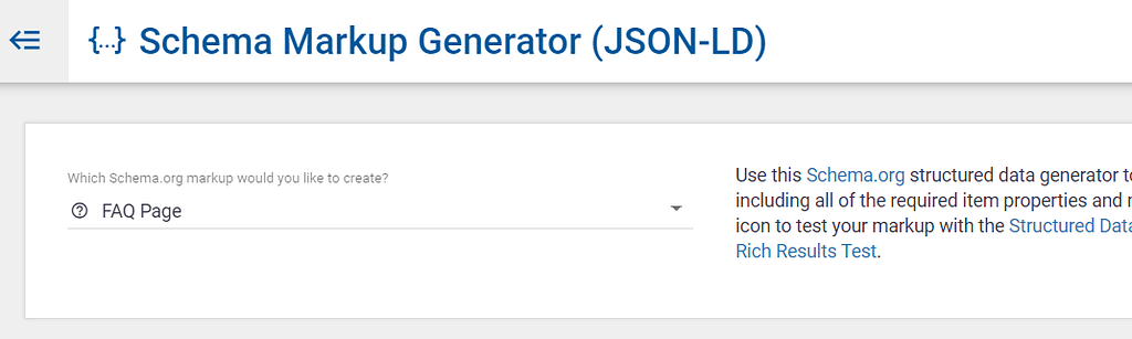 faq schema generator