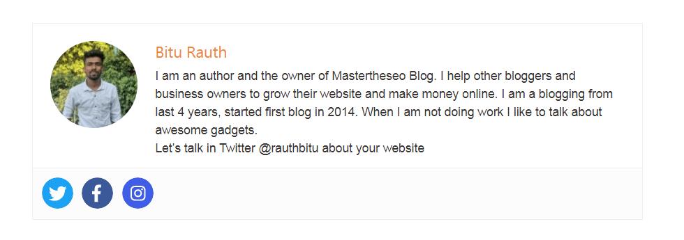 how to add author bio box in generatepress using a plugin