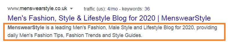 lifestyle blog description example